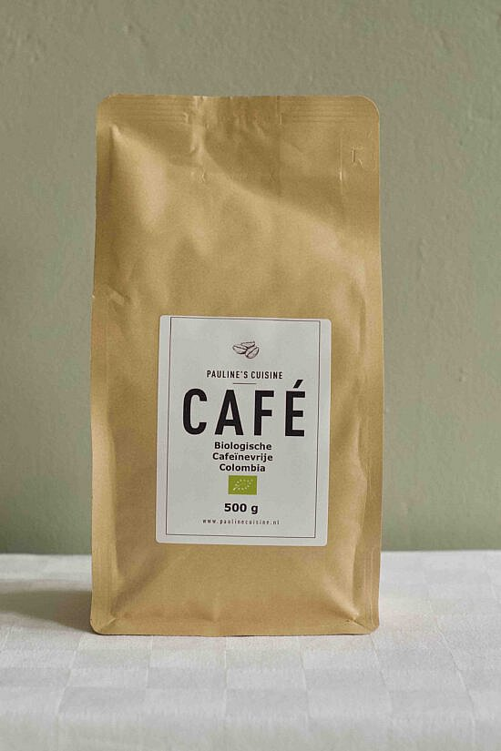 biologische careïnevrije koffiebonen