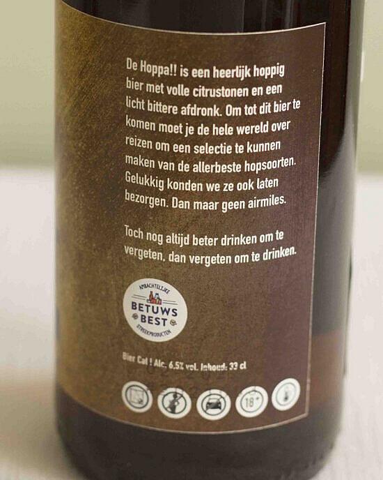een leuke beschrijving van dit bier